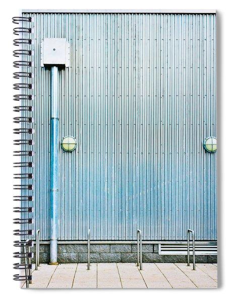 Metal Wall Spiral Notebook