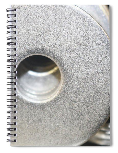 Metal Washers - All That Glitters Spiral Notebook