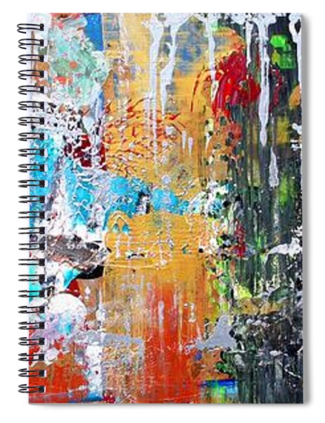 Metallic Winter Spiral Notebook