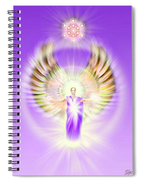 Metatron - Pastel Spiral Notebook