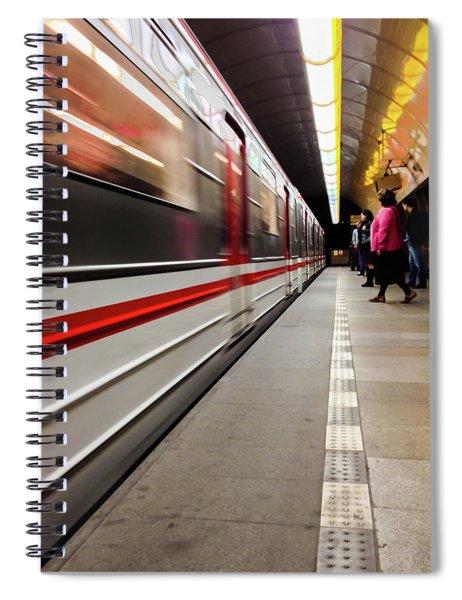 Metroland Spiral Notebook