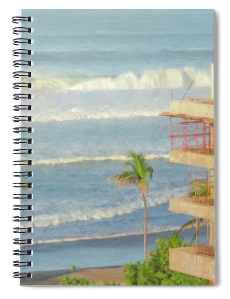 Mexico Rising Spiral Notebook