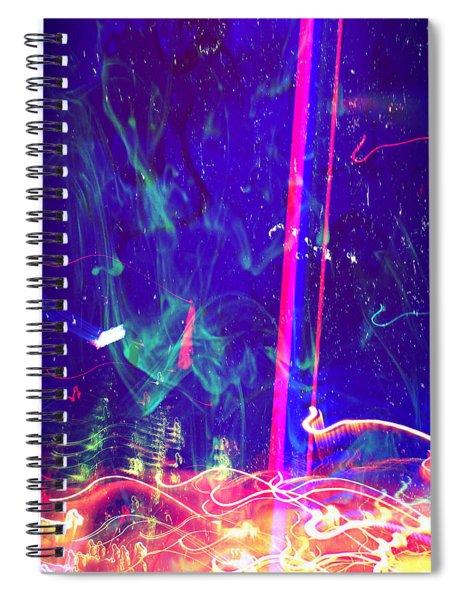 Mezzanotte Spiral Notebook by Michelle Dallocchio