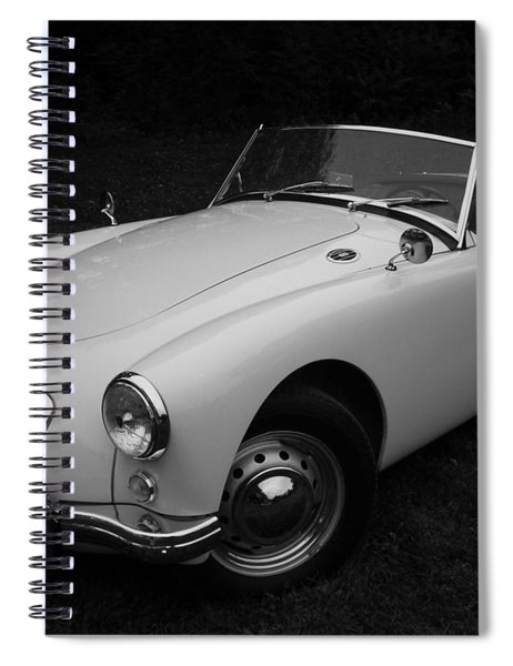 Mg - Morris Garages Spiral Notebook