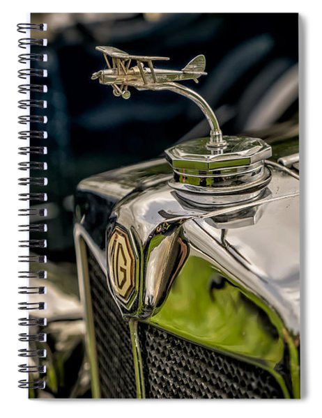 Mg Biplane Mascot Spiral Notebook