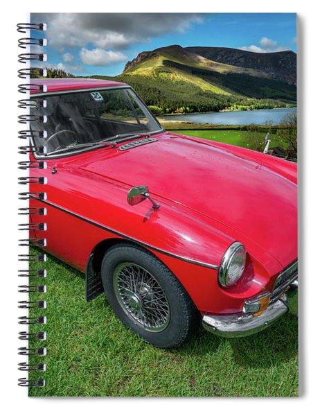 Mgb Gt Spiral Notebook