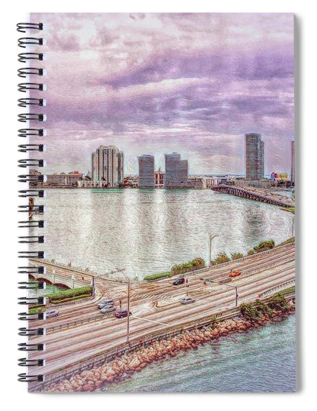Miami Sights Spiral Notebook