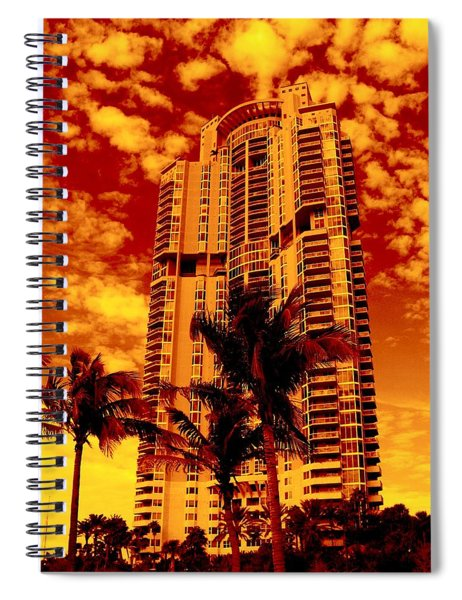 Miami South Pointe IIi Highrise Spiral Notebook