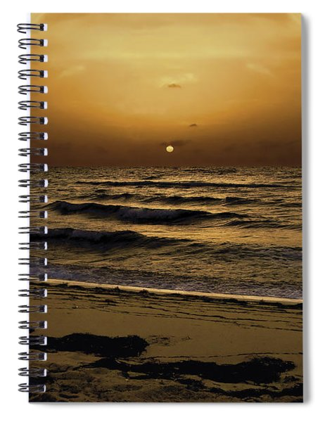 Miami Sunrise Spiral Notebook