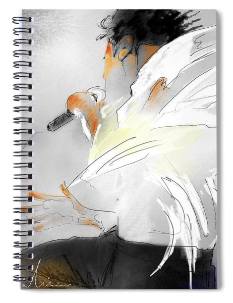 Michael Jackson 08 Spiral Notebook