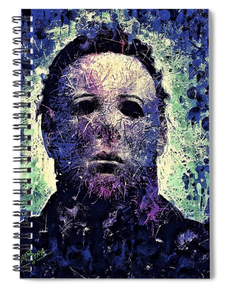 Michael Myers Spiral Notebook