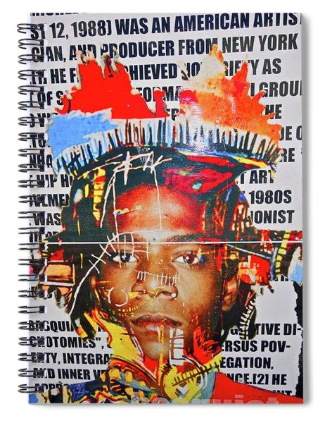 Michel Basquiat Spiral Notebook