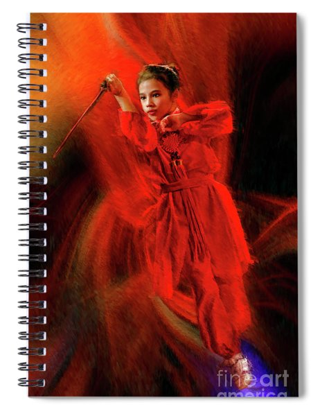 Michelle Ahl To The Rescue Spiral Notebook