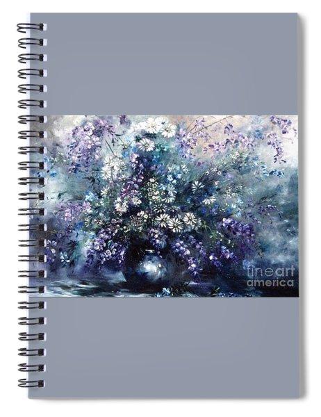 Mid Spring Blooms Spiral Notebook