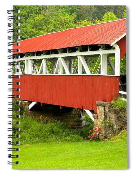 Middle Creek Township Covered Bridge Spiral Notebook