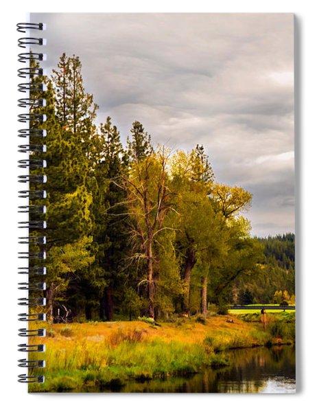 Middle Fork Spiral Notebook