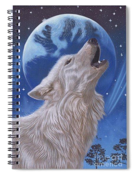 Midnight Caller Spiral Notebook