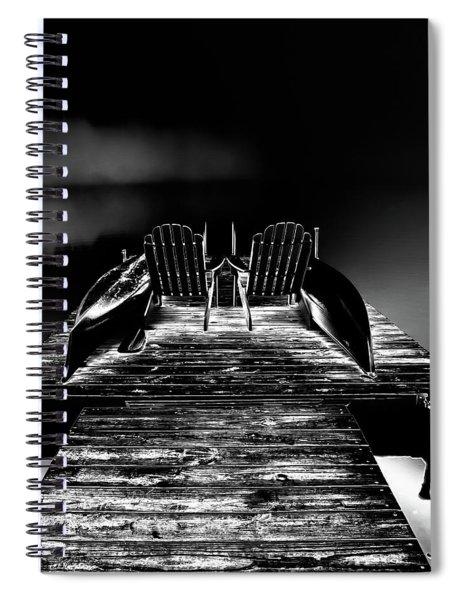 Midnight Dock Spiral Notebook