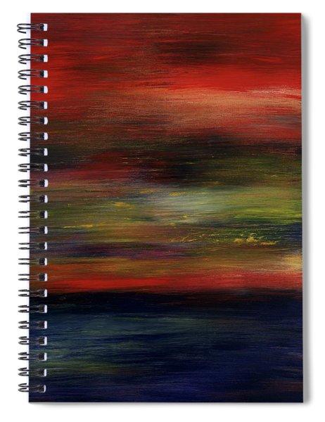 Midnight Moonlight Spiral Notebook