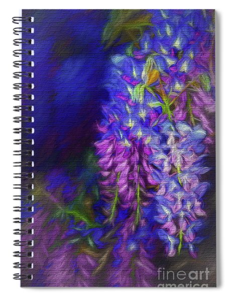 Midnight Oil By Kaye Menner Spiral Notebook