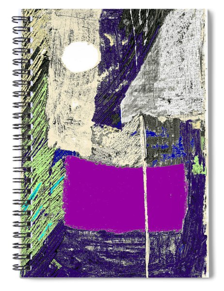Midnight On The Water Spiral Notebook