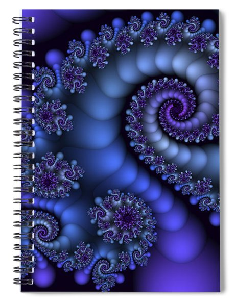 Midnight Symphony Spiral Notebook