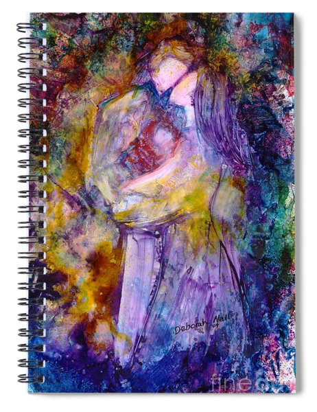 Midnight Whispers Spiral Notebook