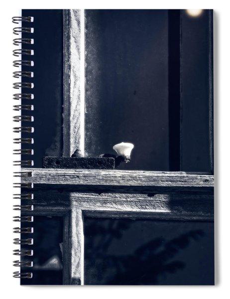 Midnight Window Spiral Notebook