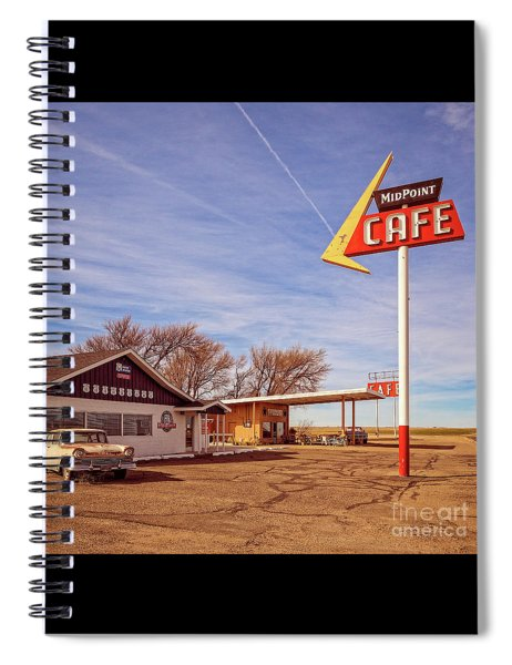 Midpoint Cafe Spiral Notebook