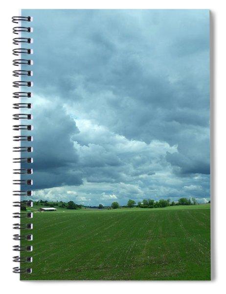 Midwestern Sky Spiral Notebook