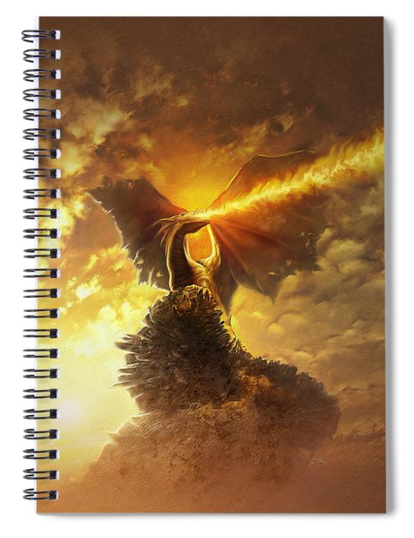 Mighty Dragon Spiral Notebook