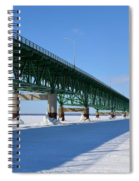 Mighty Mac On Ice Spiral Notebook