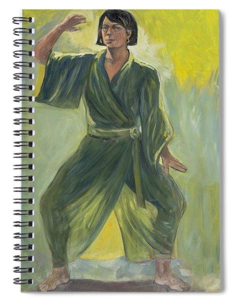 Mighty Woman Kick-butt Spiral Notebook