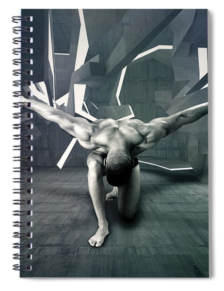 Mike 13 Spiral Notebook