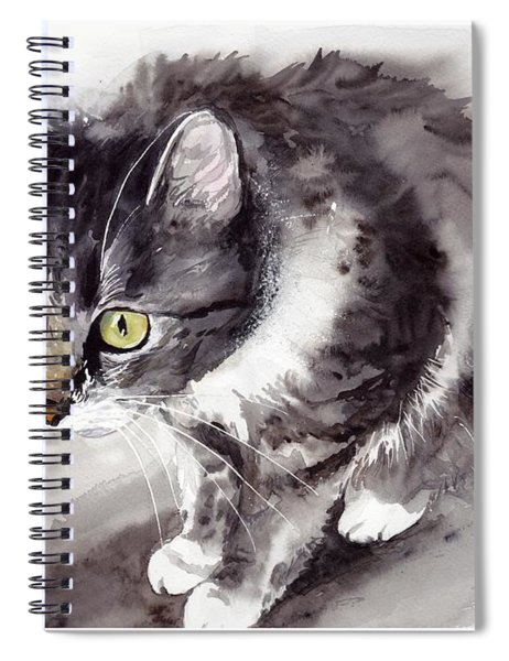 Mike Mice Catcher Spiral Notebook