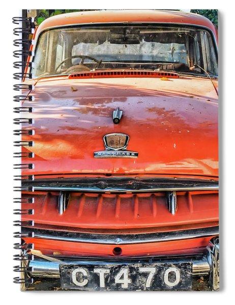Miki's Car Spiral Notebook