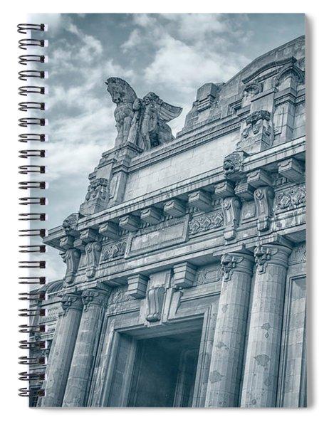 Milano Centrale II Spiral Notebook