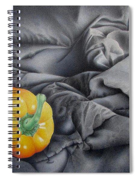 Mildly Yellow Spiral Notebook