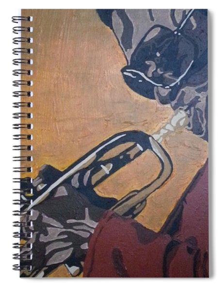 Miles Davis Spiral Notebook