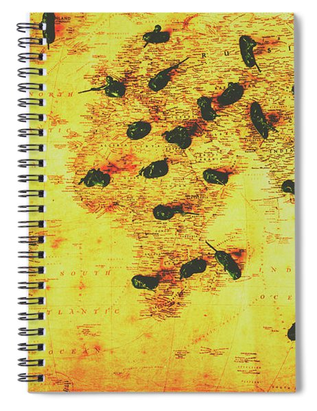 Military Expansion Spiral Notebook