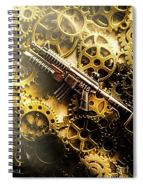 Military Mechanics Spiral Notebook