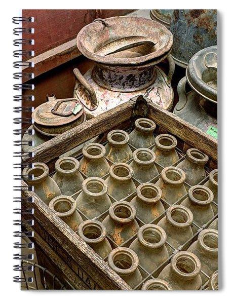 Milk Truck Interior 801 Spiral Notebook
