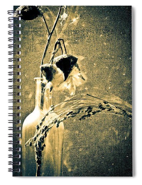 Milk Weed And Hay Spiral Notebook