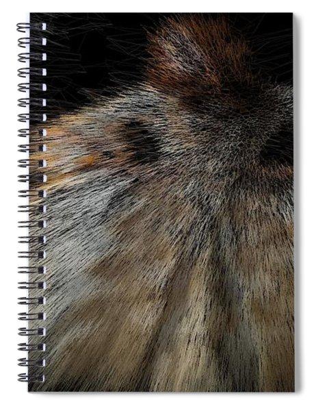 Milky Way Ballerina Spiral Notebook