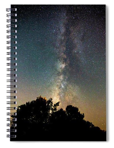 Milky Way Over Glen Rose Spiral Notebook