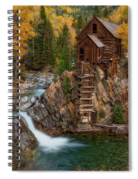 Mill In The Mountains Spiral Notebook