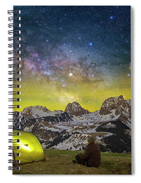 Million Star Hotel Spiral Notebook