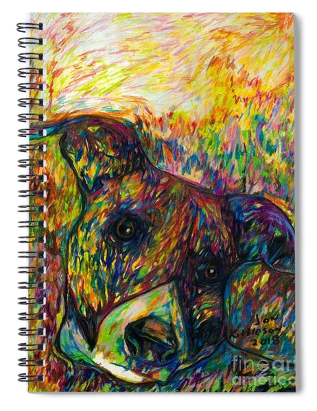 Milo Two Spiral Notebook