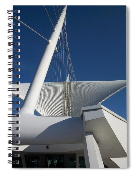 Milwaukee Art Museum Cropped Spiral Notebook