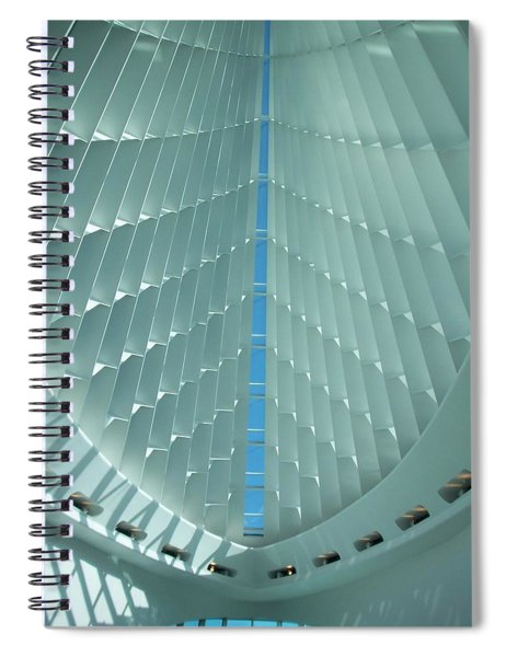 Milwaukee Art Museum Interior Spiral Notebook